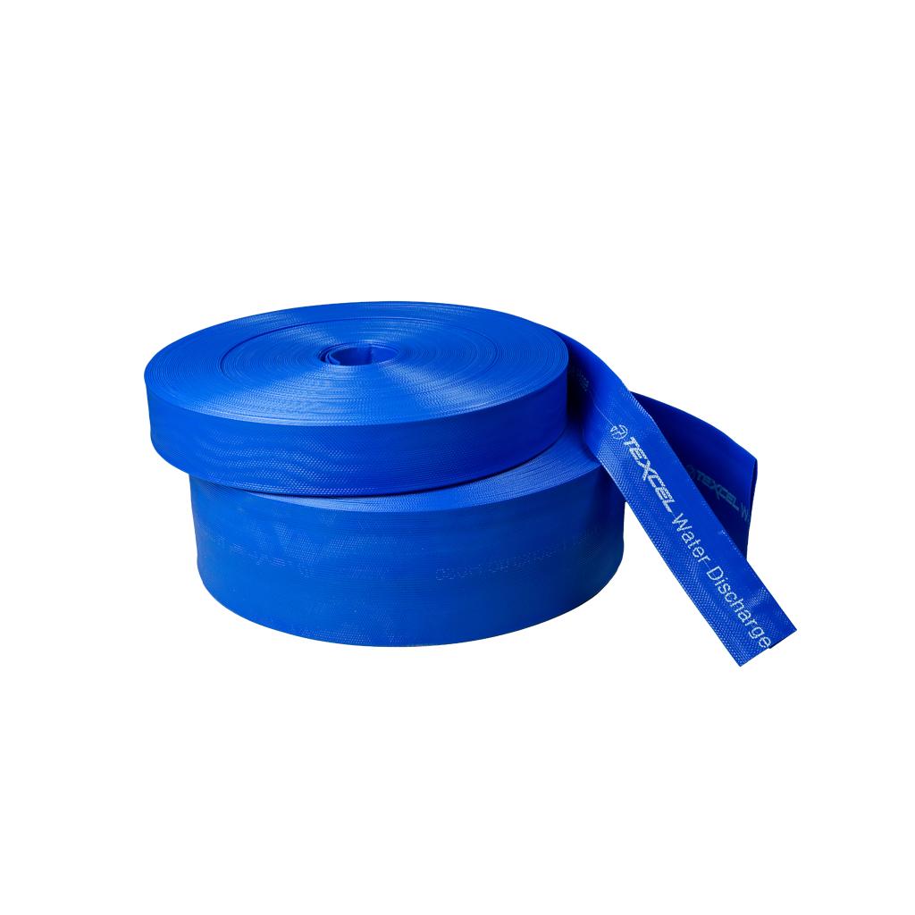 """Bleu PVC Layflat Hose-Eau Décharge Pompe Irrigation 2/"""" Lay Plat Delivery pipe"""